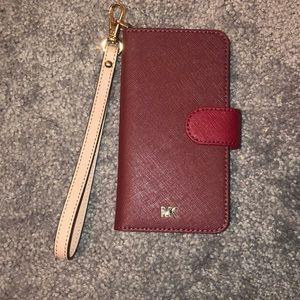 Saffiani leathe folio case for iPhone 7/8